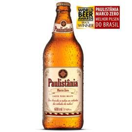 Cerveja Paulistânia marco zero 600 ml
