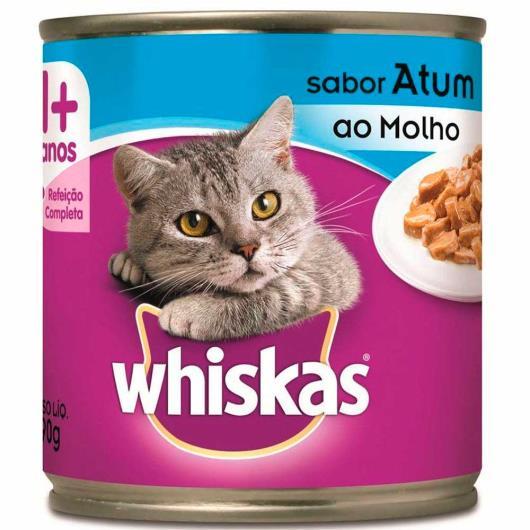 Alimento para gatos Whiskas sabor atum lata 290g - Imagem em destaque