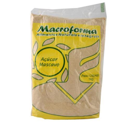 Açúcar Macroforma mascavo 1kg - Imagem em destaque