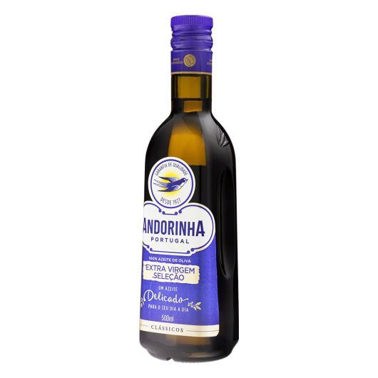 Azeite de oliva Andorinha Seleção extra virgem vidro 500ml - Imagem em destaque