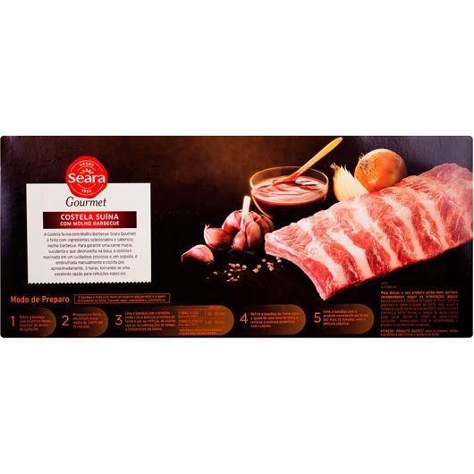 Costela suína com osso ao molho Barbecue Seara Gourmet 1kg - Imagem em destaque
