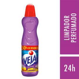 Limpador Veja Perfumes Lavanda Bem Estar 500ml com 30% de Desconto
