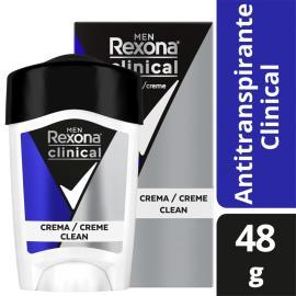 Desodorante Antitranspirante Rexona  Masculino Azul 48 gr