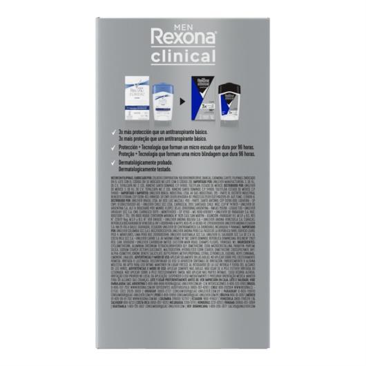 Desodorante Antitranspirante Rexona  Masculino Azul 48 gr - Imagem em destaque