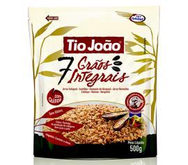 Arroz integral 7 grãos Tio João 500 g