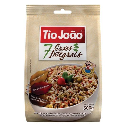 Arroz integral 7 grãos Tio João 500 g - Imagem em destaque