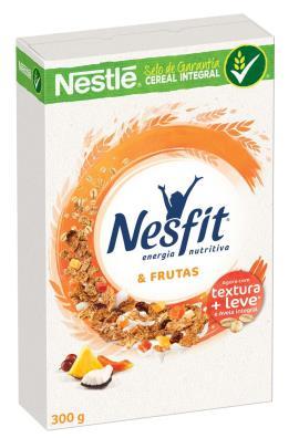NESTLÉ NESFIT Cereal Matinal Frutas Caixa 300g