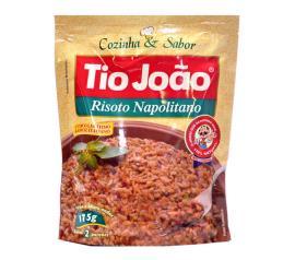 Risoto Tio João cozido napolitano saco 175g