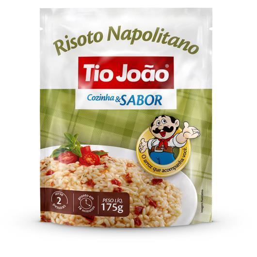 Risoto Tio João cozido napolitano saco 175g - Imagem em destaque