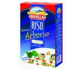 Arroz Divella riso superfino arbóreo 1 kg
