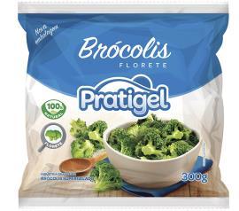 Brócolis Congelado Pratigel 300g