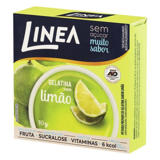 Gelatina Pó Limão Zero Açúcar Linea Caixa 10g - Imagem em destaque