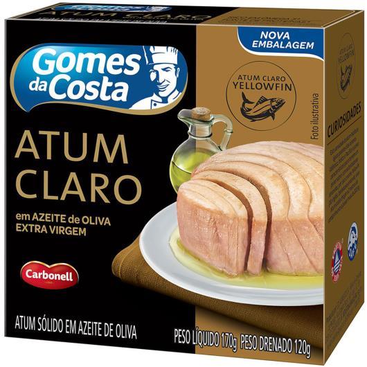 Atum claro em azeite de oliva Gomes da Costa 170g - Imagem em destaque