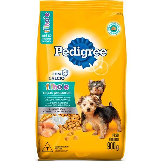 Ração Pedigree filhotes raças pequenas 900g - Imagem em destaque