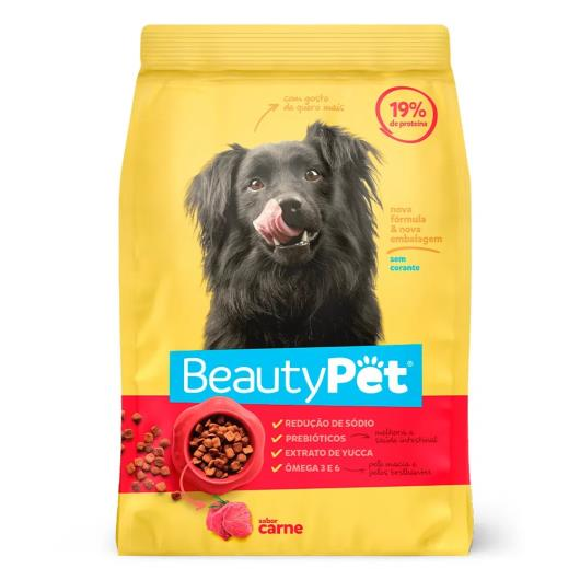 Alimento para Cães adulto Beauty Pet carne 1kg - Imagem em destaque