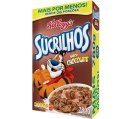 Cereal matinal Kellogg's Sucrilhos chocolate 780g