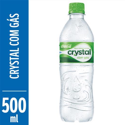 Água Crystal mineral com gás 500ml - Imagem em destaque