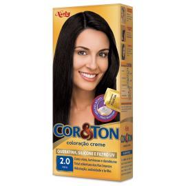 Coloração Creme Cor&Ton 2.0 Preto