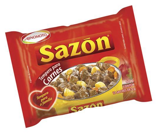 Tempero Sazon para carne, legumes e arroz 60g - Imagem em destaque