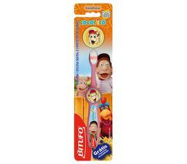 Escova dental Bitufo Cocoricó- Grátis protetor