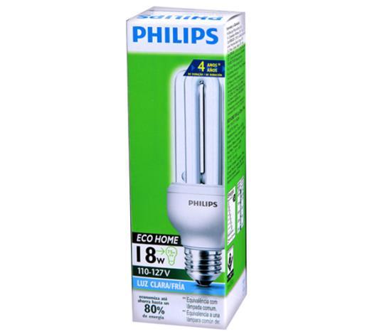 Lâmpada Philips Eco Hight Clara 18Wx127V Unidade - Imagem em destaque