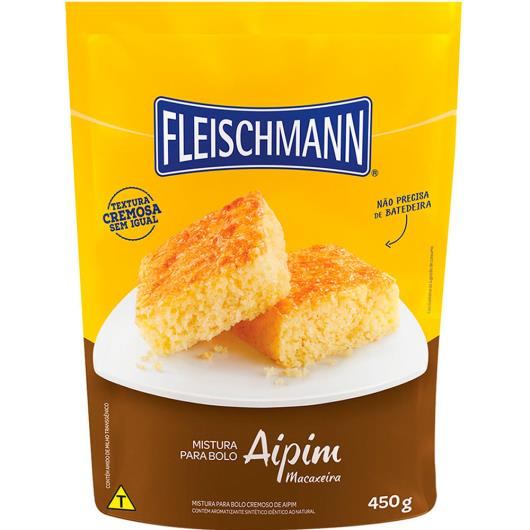 Mistura para bolo Fleischmann sabor aipim 450g - Imagem em destaque