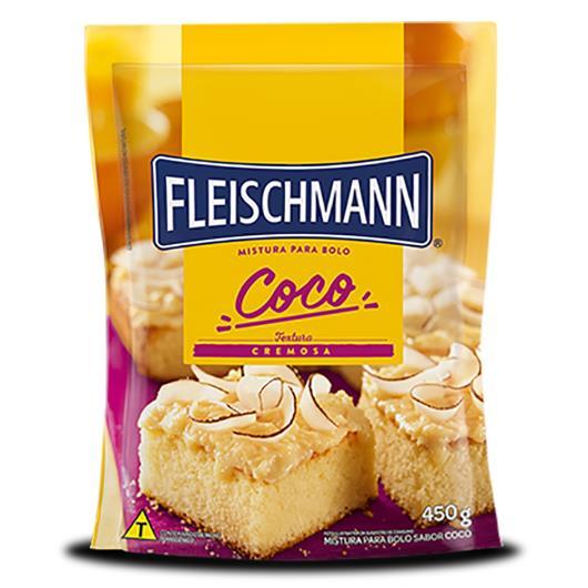 Mistura para bolo Fleischmann sabor coco 450g - Imagem em destaque