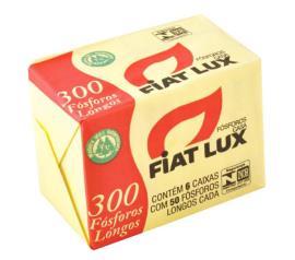 Fósforo Fiat lux casa com 6 unidades