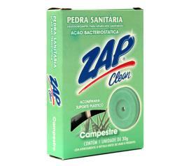 Desodorizador Zap pedra sanitária clean campestre 25g