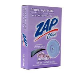 Desodorizador  Zap Clean pedra sanitária lavanda 25g