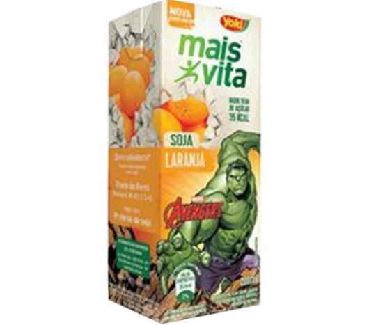 Bebida de Soja Yoki Mais Vita Laranja Aventura 200ml - Imagem em destaque