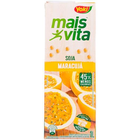 Bebida de Soja Yoki Mais Vita Maracujá 1l - Imagem em destaque