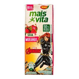 Bebidas de Soja Yoki Mais Vita Morango Avengers 200ml