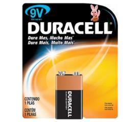 Bateria Duracell alcalina 9 v MN 1604