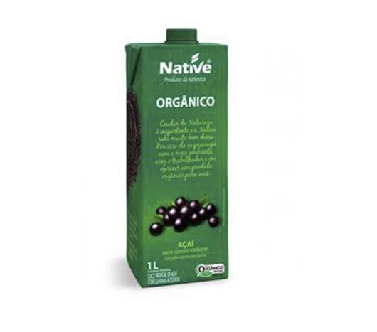 Suco orgânico Native sabor açaí com guaraná 1L - Imagem em destaque