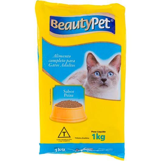 Alimento para gatos pet adulto sabor peixe BeautyPet 1kg - Imagem em destaque