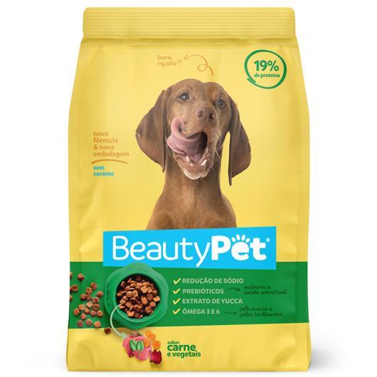 Alimento para Cães adulto Beauty Pet carne e vegetais 1kg - Imagem em destaque