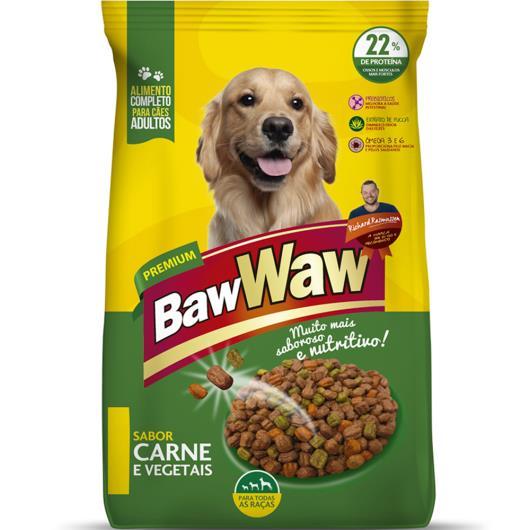 Alimento para cães adulto sabor carne com vegetais Baw Waw 3kg - Imagem em destaque