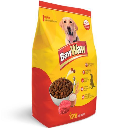 Alimento para cães adultos original sabor carne Baw Waw 3kg - Imagem em destaque