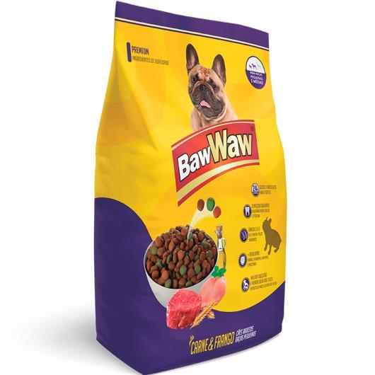 Alimento para cães Adultos raças pequenas e médias Baw Waw 1kg - Imagem em destaque