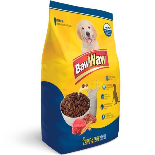 Alimento para cães Filhotes sabor carne Baw Waw 1Kg - Imagem em destaque