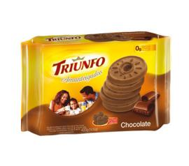 Biscoito amanteigado sabor chocolate Triunfo 330g