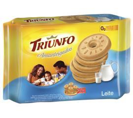 Biscoito amanteigado de leite Triunfo 330g