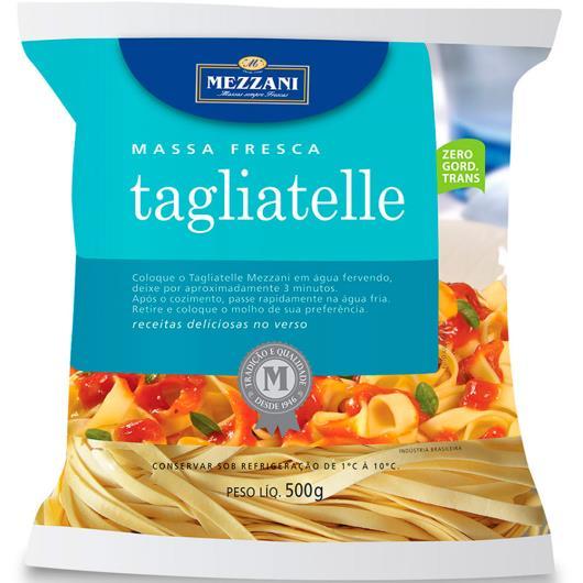 Massa fresca Tagliatelle Mezzani 500g - Imagem em destaque