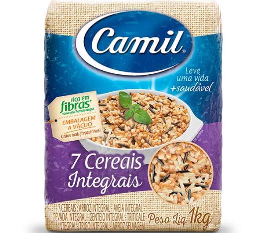 Arroz Integral Parboilizado Camil 7 Cereais 1kg - Imagem em destaque