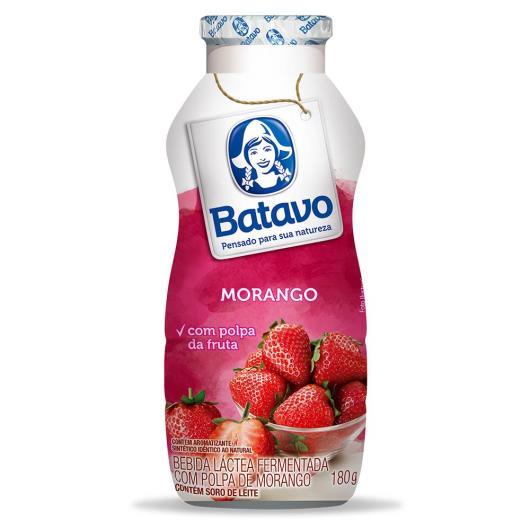 Bebida láctea Batavo morango 180g - Imagem em destaque