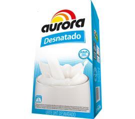 Leite Aurora Desnatado 1L