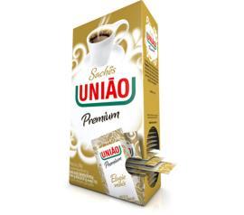 Açúcar União premium sachê 200g com 40 sachês de 5g