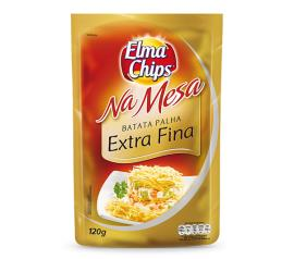 Batata palha Elma Chips na mesa extra 120g