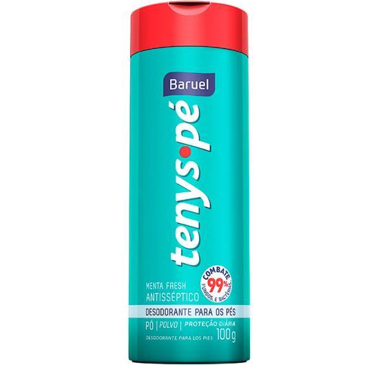 Desodorante em pó Tenys pé Menta Fresh 100g - Imagem em destaque